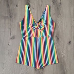 Colorful one piece